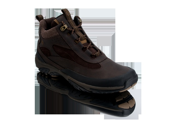 Gakona Highly shock-absorbent cushioning protects the heel at impact Full  Grain Leather Durable and easy to clean, extending the life of your Rockport  shoe.