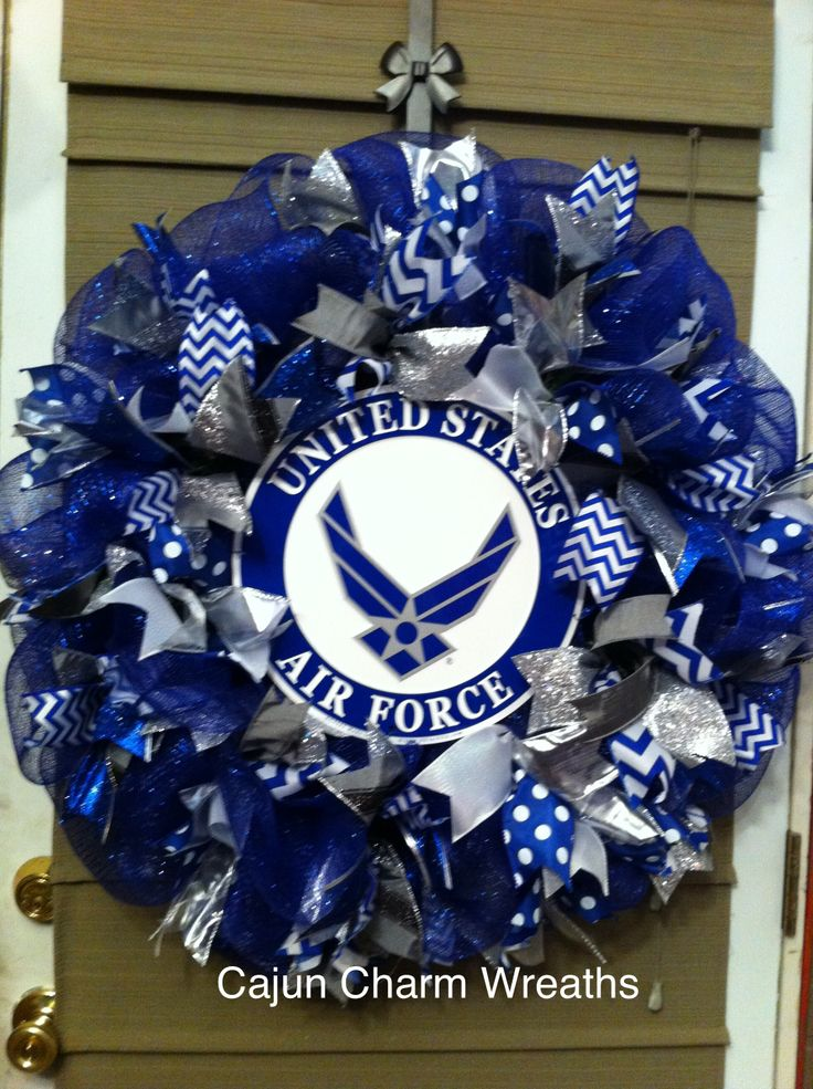 US Air Force Ribbon wreath