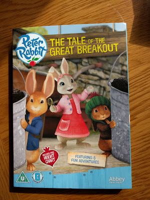 Entertaining Elliot: Peter Rabbit The Tale of the Great Breakout DVD - ...