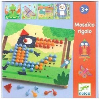 Djeco Σύνθεση εικόνας με καβύλιες 'Διασκέδαση'
