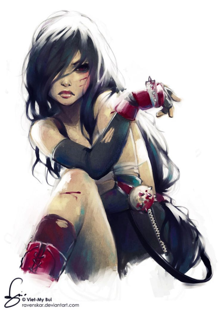 tifa lockhart. by vmbui on @DeviantArt