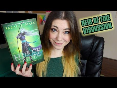 I just finished reading Heir of Fire and oh my gosh!! This was so exciting and action packed  i love the new characters!I wish I didn't have to wait a whole year for book four... In the mean time you should watch Kat's book review.... HEIR OF FIRE BY SARAH J MAAS | BOOK REVIEW + DISCUSSION - YouTube