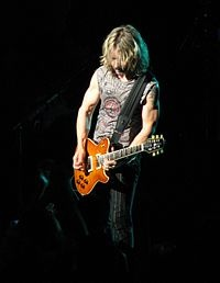 Tommy Shaw, musician with Styx and Damn Yankees.