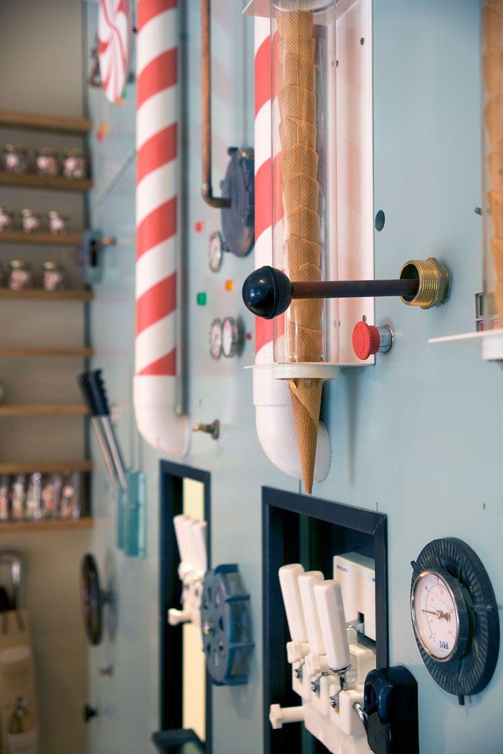 Rocambolesc Ice Cream Parlour Interior Design