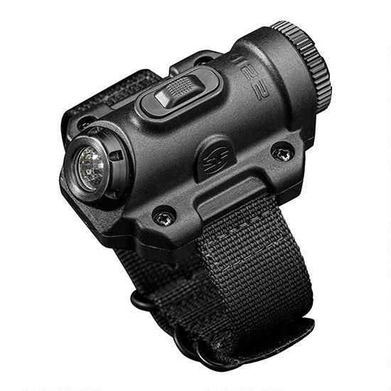 NEW! Free Shipping! Bright, 300-lumen wrist light from Surefire. LED light with 13 hours of runtime on low (15 lumens), nylon wrist strap, one 123A battery, MaxVision Beam utilizes a precision reflector for better illumination. Push-button on and off.