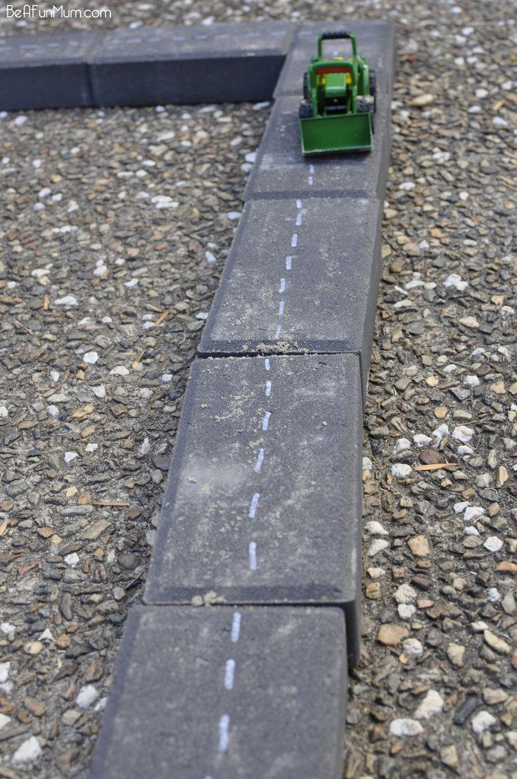 Imaginative Play - Paver Roads.