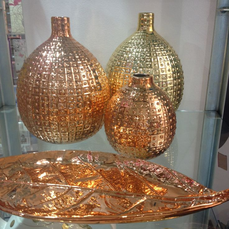 Metallics! It's all about copper & bronze