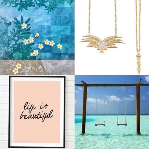 Life is beautiful  Miss posting our #daily inspirations with #EdgesofNature #necklace  Wear your #charmaleena necklace in more ways than one  #charmaleenaJewellery #myCharmaleena #summerLove