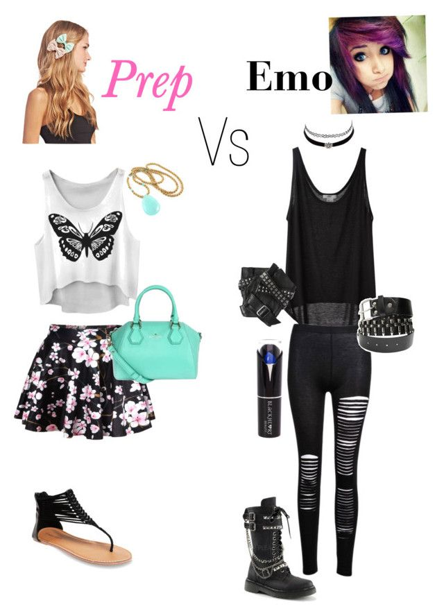Prep vs emo | Fashion outfits, Trendy outfits, Sunday outfits |Emo School Clothes For Girls
