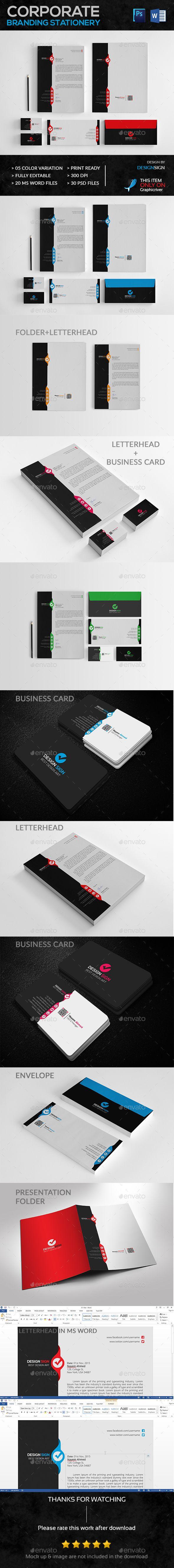 Corporate Branding Stationery Vol. 01