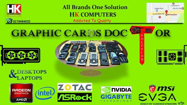 Nvidia, Zotec, MSI, AMD, Intel, ATI Graphics Cards Repairs. All Brands. Laptop & Desktop Graphics Card repair clinic.