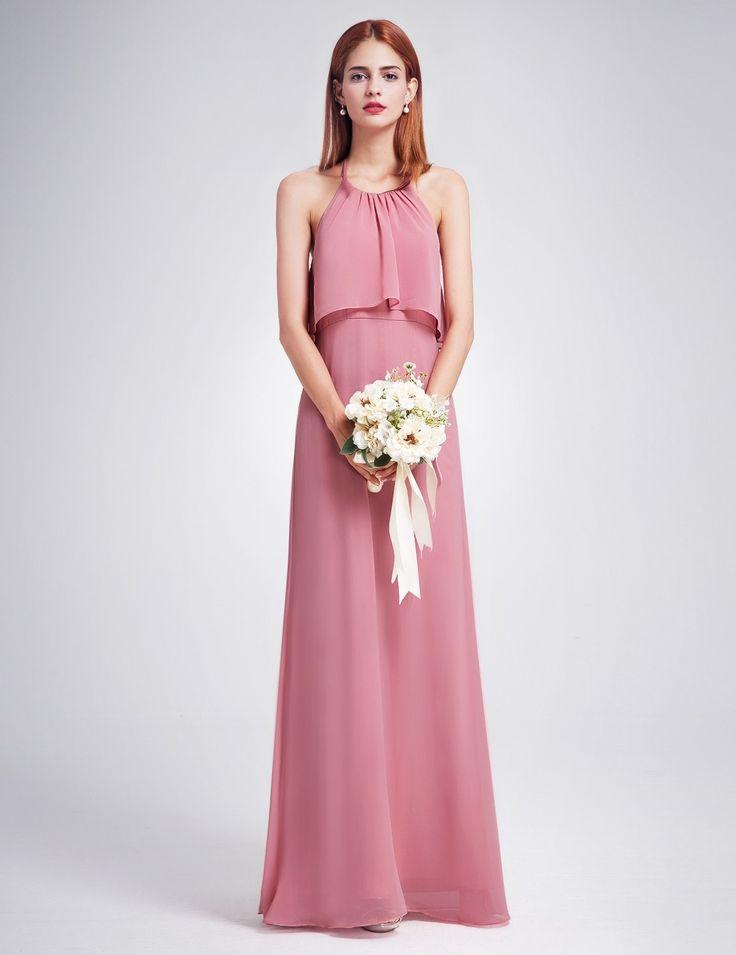 Magnífico Edmonton Vestido De Dama Ornamento - Colección del Vestido ...