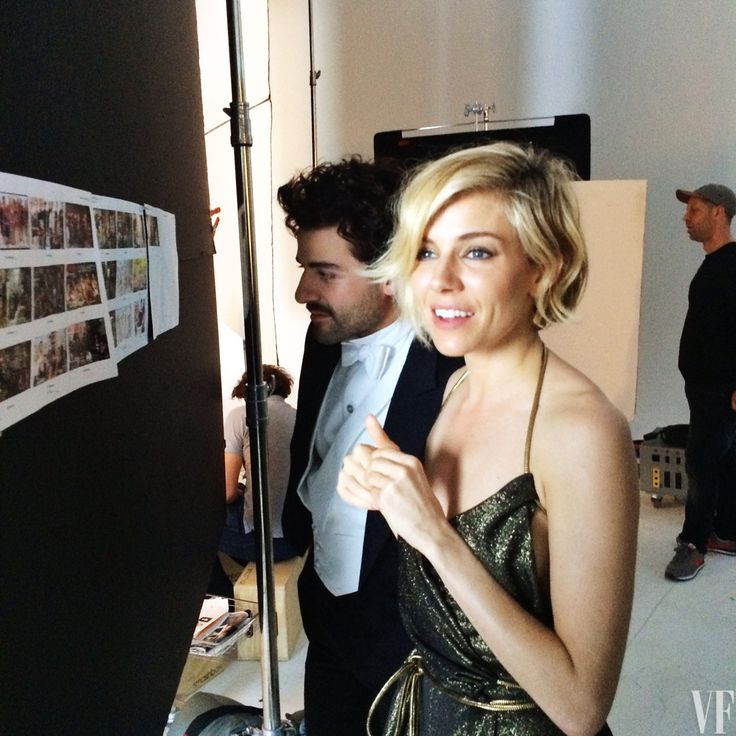 Oscar Isaac and Sienna Miller                                                                                                                                                     More