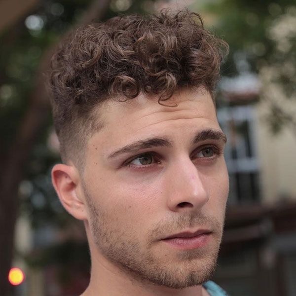 How To Get Curly Hair For Men 2020 Guide With 7 Steps Curly Hair Styles Haircuts For Men Curly Hair Fade