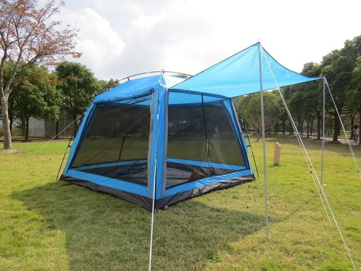 Hasika 8 X 8 Instant Screened Canopy Waterproof(not include outside poles) *** Click on the image for additional details.