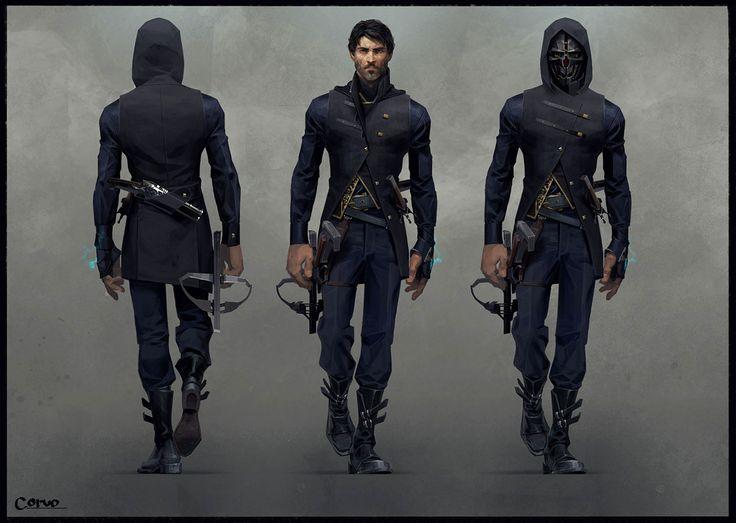 Artes de Sergey Kolesov para o game Dishonored 2   THECAB - The Concept Art Blog
