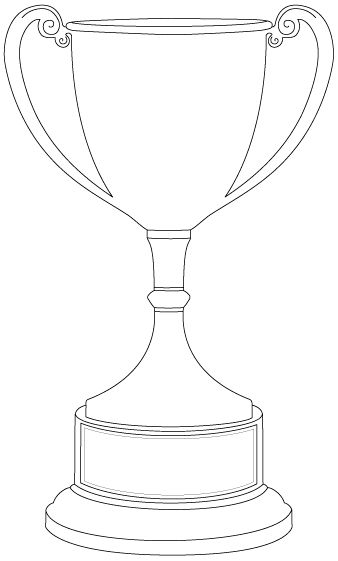 This might be nice for a minimalist trophy that sat in a