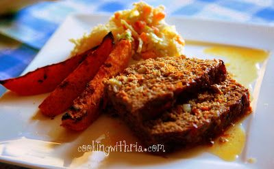 Cooking with Ria: CWR'S Meatloaf With Veggies