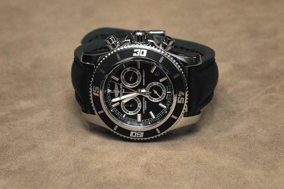 Breitling Superocean Chronograph M2000. Not the first Breitling I'd buy ... but I also wouldn't kick it out of bed for eating crackers, if you know what I mean!