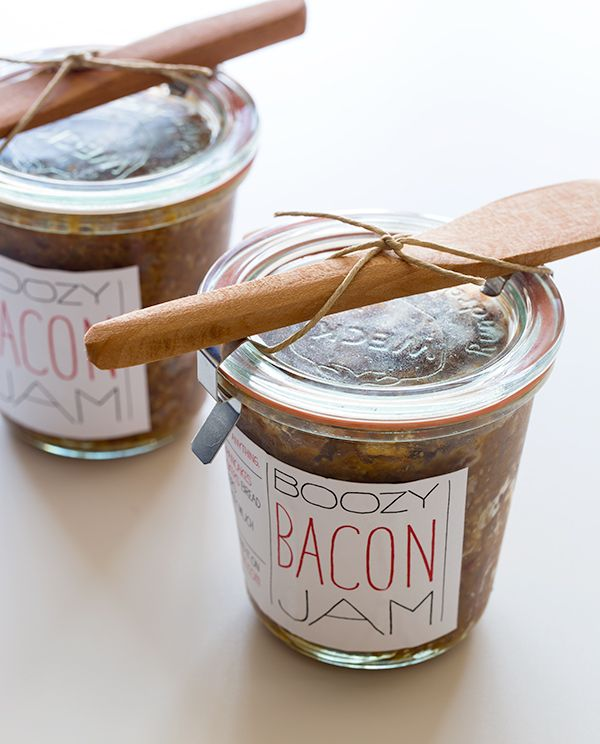 Bacon Jam gift. Download + print some labels.