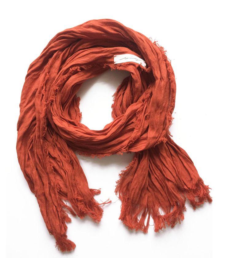 Льняной шарф | «Ламбада-маркет»