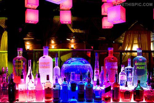 Colorful Bottles Of Liquor party club bar liquor bottles ...