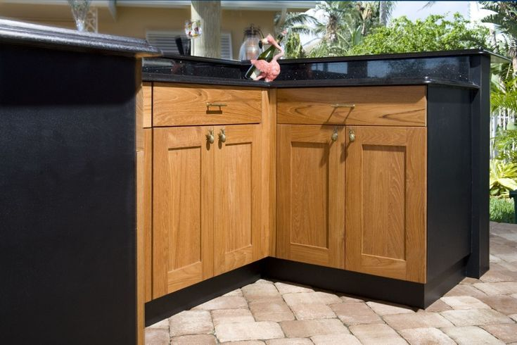Spellbinding outside kitchen cabinets for less with for Black kitchen cabinet doors