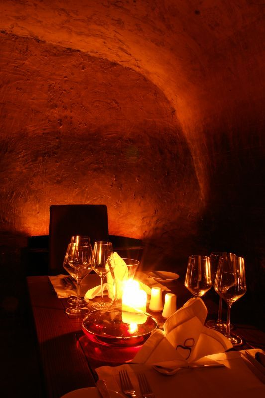 Private candlelit dinners in a haven of tactile treasures