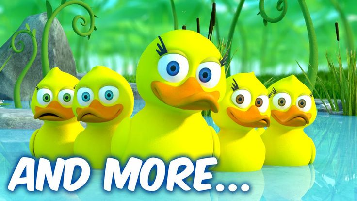 Five Little Ducks - Músicas em inglês para crianças - LooLoo Kids