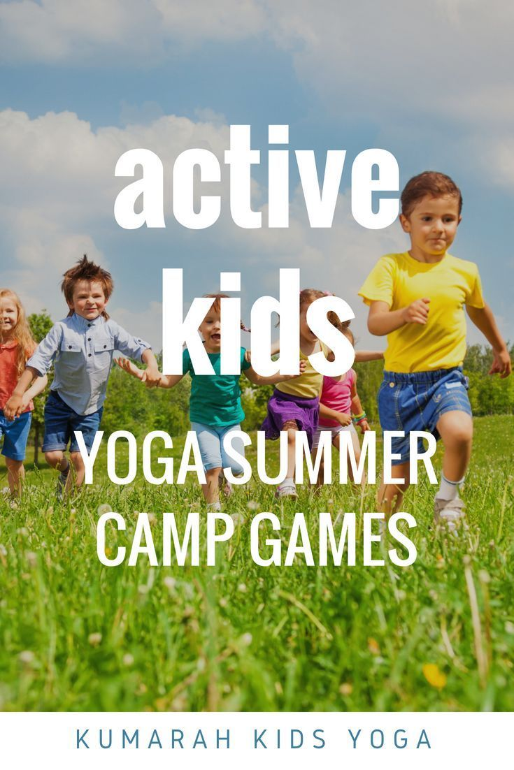 Active yoga games for kids! | Spring Activities for Toddlers