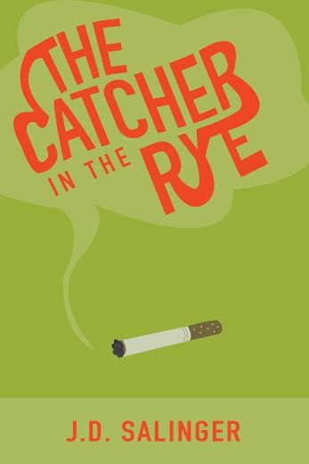 Catcher in the Rye book cover redesign by Anna Davis