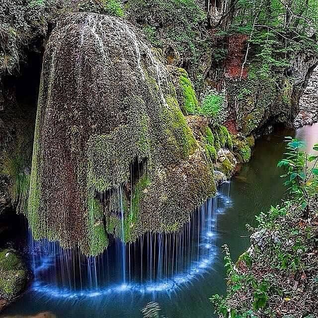 Top Places To Visit Romania: Earth Porn 9 Hrs · Dazzling Waterfall In Romania. Photo By