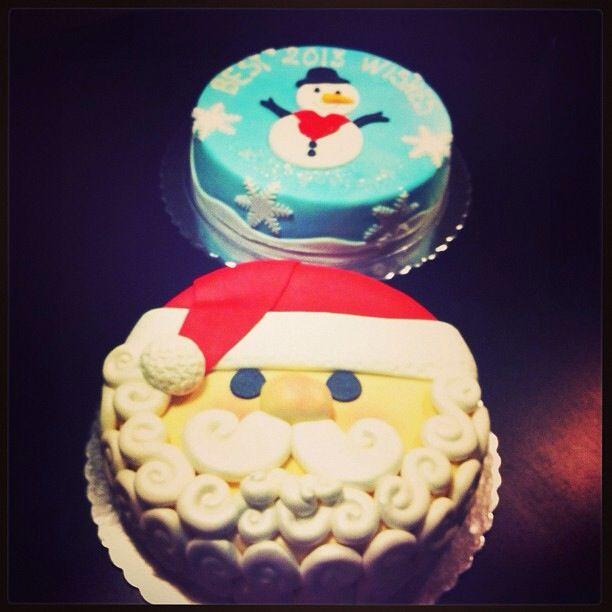 Vasilopita Sketiglyka  Christmas cakes