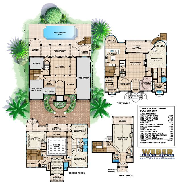 Mediterranean Style House Plan: 107 Best Images About Mediterranean House Plans On