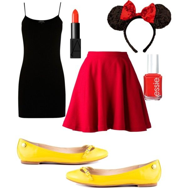 Teen Minnie Mouse. I'm going to be Minnie Mouse, but I want to be very authentic