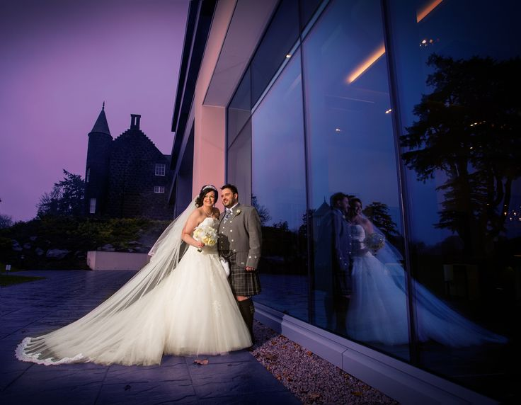 Lovely evening image of Lynne and Jackie outside the new ballroom at Meldrum House hotel. #aberdeenweddingphotographeratmeldrumhousehotel #aberdeenweddingphotographersatmeldrumhousehotel #aberdeenweddingphotographyatmeldrumhousehotel #aberdeenshireweddingphotographeratmeldrumhousehotel #weddingatmeldrumhousehotel #scottishweddingphotographeratmeldrumhousehotel