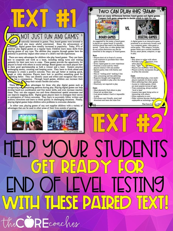 Help Your Student Form Stronger Opinion Argumentative In 6th And Create Quality Written Essay Using Fact Ba Paired Text Explanatory Writing Forms Video Game Essays Best Violence