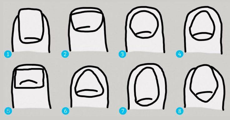 Descubre lo que la forma de tus uñas dice de tu personalidad aquí.