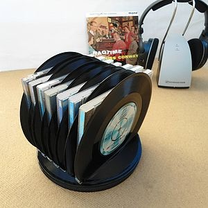 Vinyl Record CD Or Letter Rack