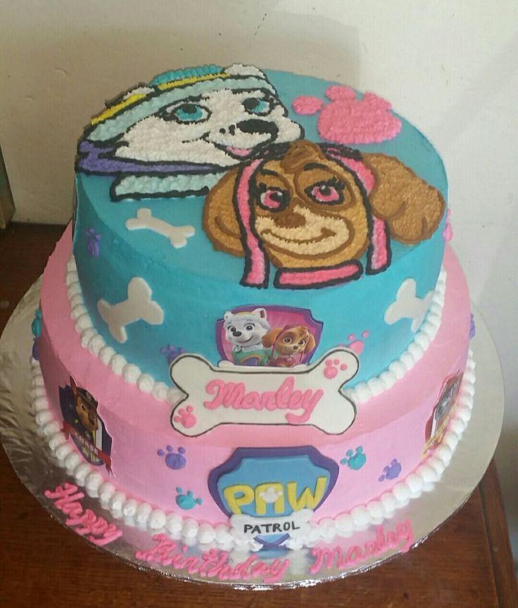 Everest Amp Sky Paw Patrol Girlie Cake Kid S Stuff Cake
