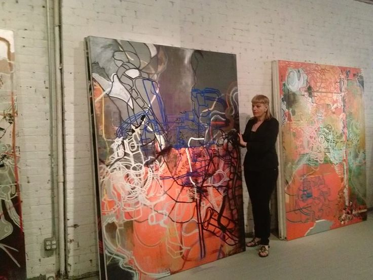Lydia Dona's Paintings Studio /NY