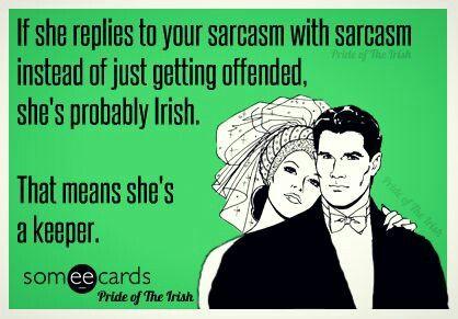 How Irish men date.