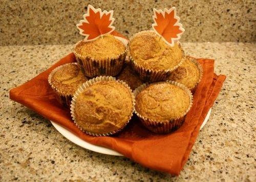 Weight Watchers Pumpkin Muffins With White Cake Mix