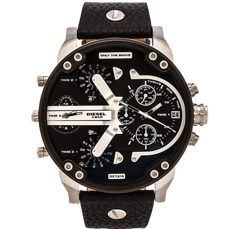 Diesel Mr Daddy 2.0 Anaglog Display Analog Quartz Black Watch
