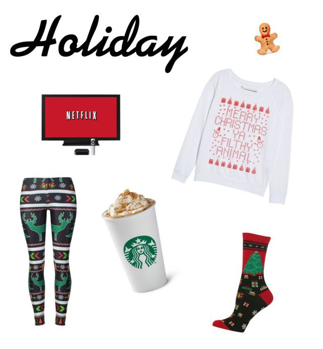 """""""love u holiday"""" by nitasusan on Polyvore featuring Prince Peter and HOT SOX"""
