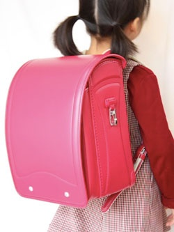 Randoseru - Elementary school children's backpacks in Japan
