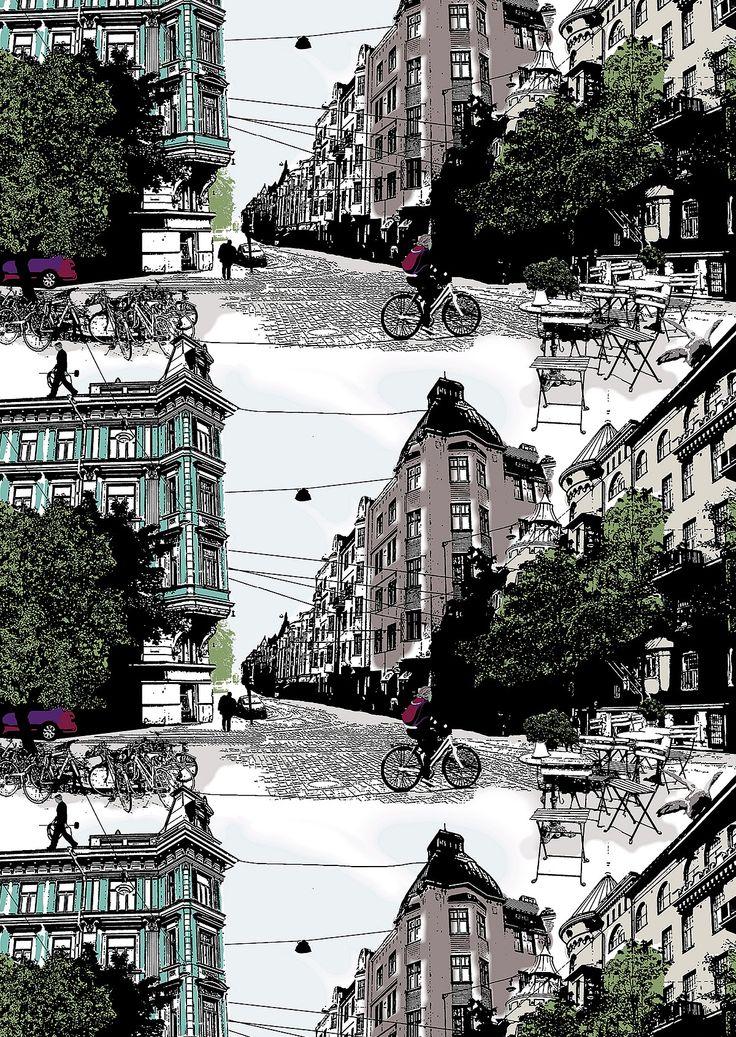 NetAnttila - Vallila Bulevardi sivuverho 1x140x240 cm | Verhot ja kankaat
