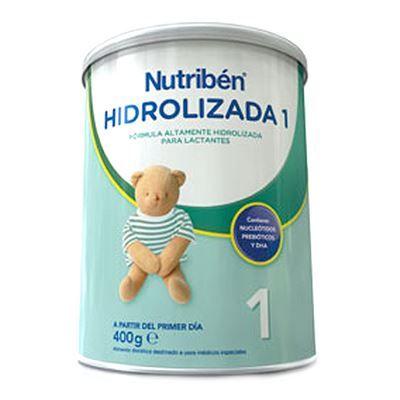 El complemento alimenticio Nutribén Hidrolizada 1 está indicado para los tratamientos de la intolerancia a la lactosa, dermatitis atópica y gastronteritis. Contiene prebióticos que refuerzan el sistema inmunitario.