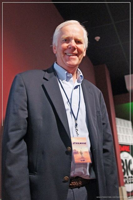 Empire BIG SCREEN : The one & only Boba Fett Mr. Jeremy Bulloch at the Industrial Light and Magic presentation by Craig Grobler, via Flickr