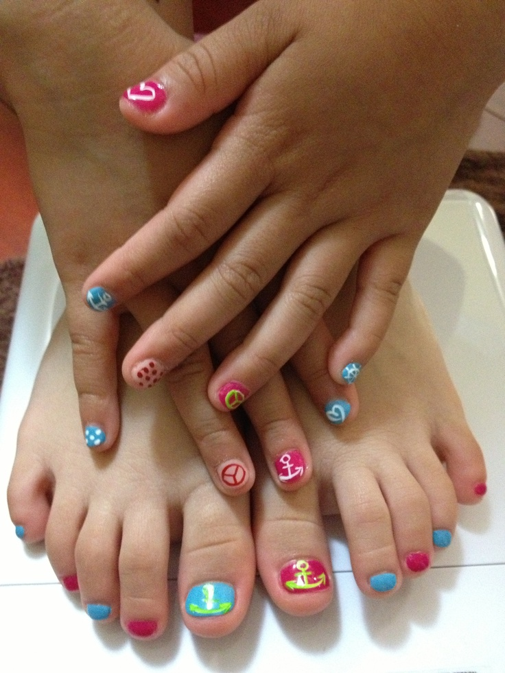 The 121 best Kids NailArt images on Pinterest | Cute nails, Make up ...